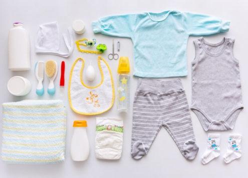 O que comprar para o enxoval do bebê?